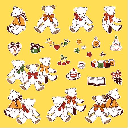 Ilustración de oso