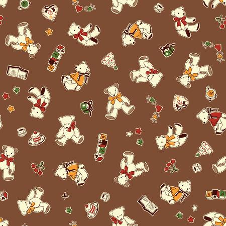 곰 그림 패턴