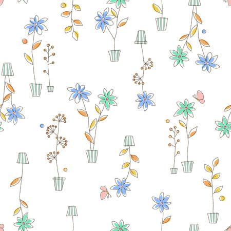 Garden plant pattern