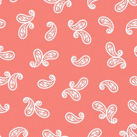 Paisley design pattern 向量圖像