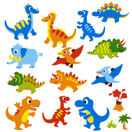 かわいい恐竜のイラスト