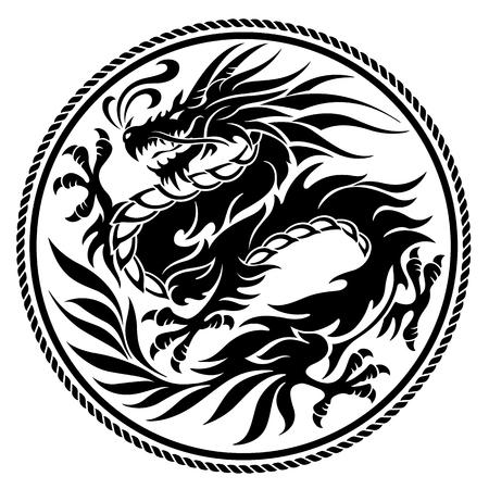Objet d'illustration Dragon Banque d'images - 87658896
