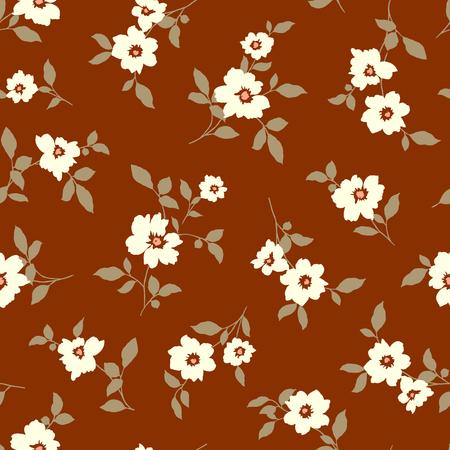 Abstract flower pattern Vector Illustration