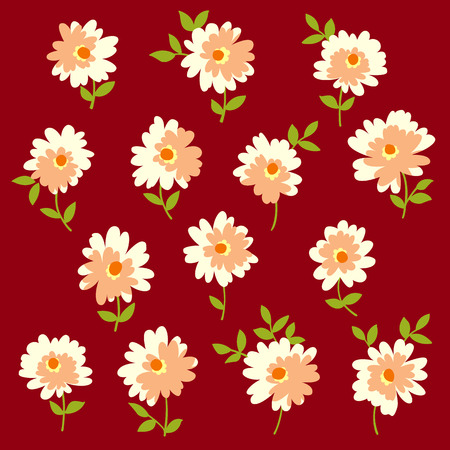 Flower illustration object Illustration