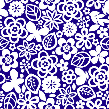 Abstract flower illustration.