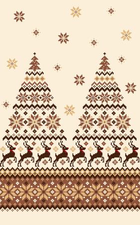 Nordic pattern illustration 向量圖像