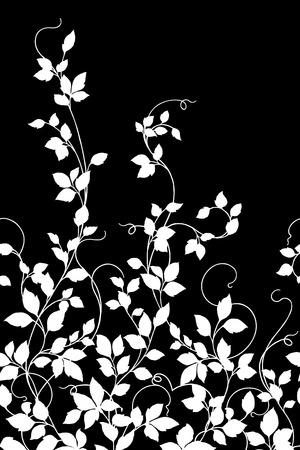 Leaf illustration pattern. Vector illustration. 版權商用圖片 - 91319870