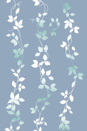 Leaf illustration pattern. Vector illustration.