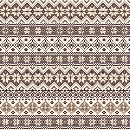 Nordic pattern illustration. Illusztráció