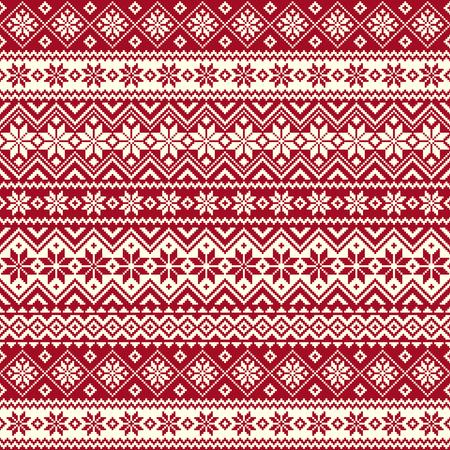 Nordic pattern illustration. Çizim