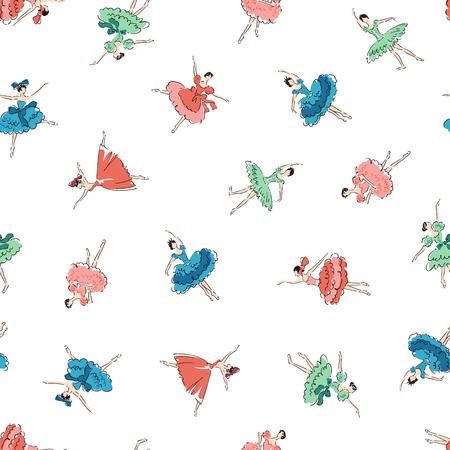 나는 발레리나를 패턴으로 만들었고, 발레리나의 패턴