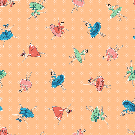 I made a ballerina a pattern, and the pattern of the ballerina