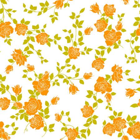 Decoration, Rose illustration pattern. I designed a rose