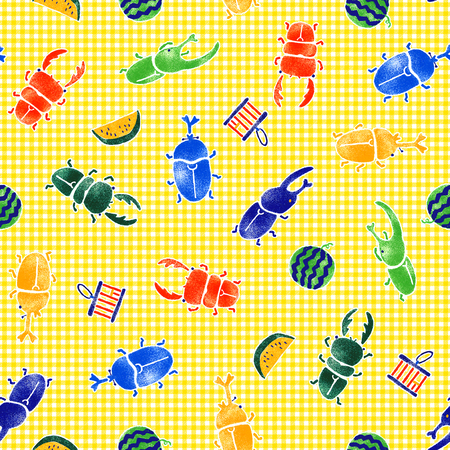 The pattern of the beetle, 版權商用圖片