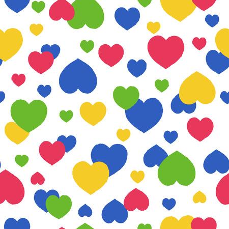 Heart shaped pattern  イラスト・ベクター素材