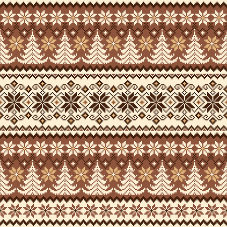 Nordic pattern illustration. 版權商用圖片 - 106995928