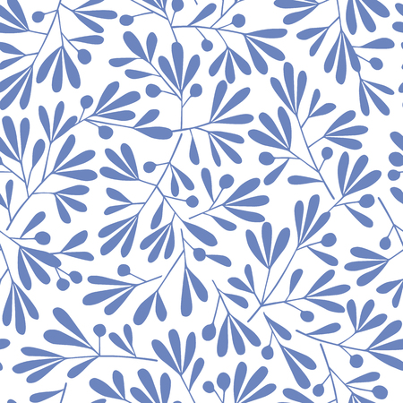 Abstract plant pattern,