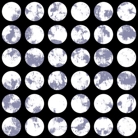 Pattern of a hoarse dot, I made a pattern with a blurred dot, I continue seamlessly,