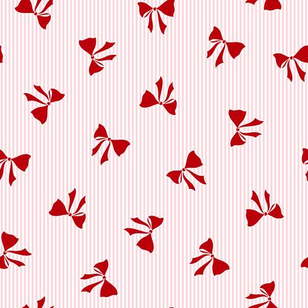 Pattern of the ribbon, I made ribbon a seamless pattern, Illustration