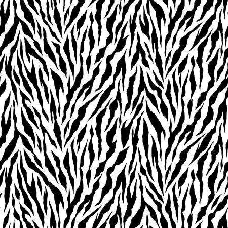Zebra pattern illustration I drew the pattern of the zebra seamlessly