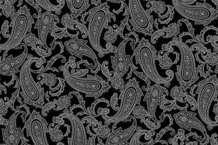 Paisley design pattern This painting continues repeatedly