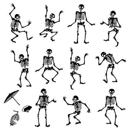 Interesting human bone illustration Banco de Imagens - 112511245