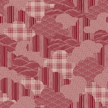Japanese style tradition pattern,