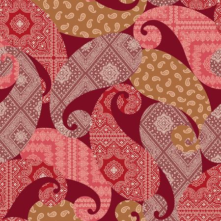 Ornament pattern illustration, Иллюстрация