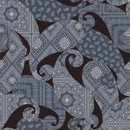 Ornament pattern illustration, 向量圖像