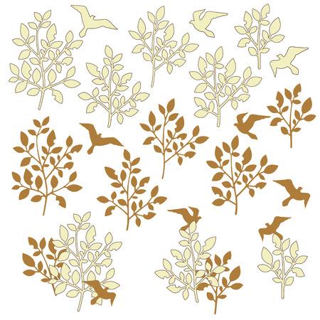 Leaf illustration object