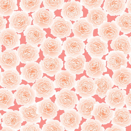 Pattern illustration of beautiful rose