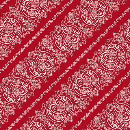 Bandana ornament pattern Иллюстрация