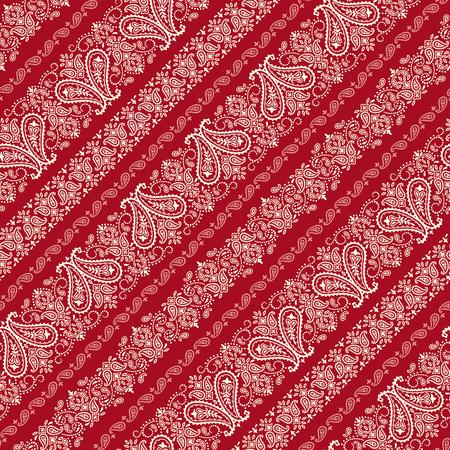 Bandana ornament pattern 일러스트