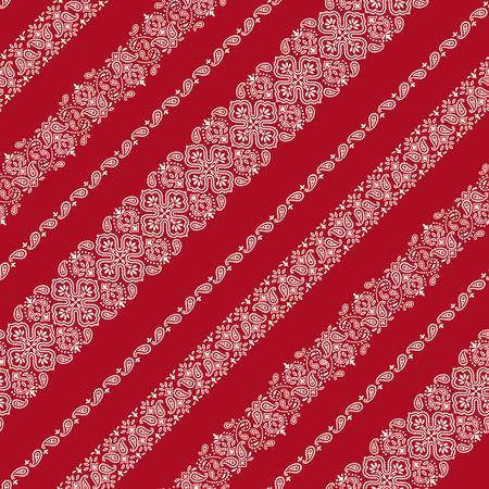 Bandana ornament pattern 向量圖像