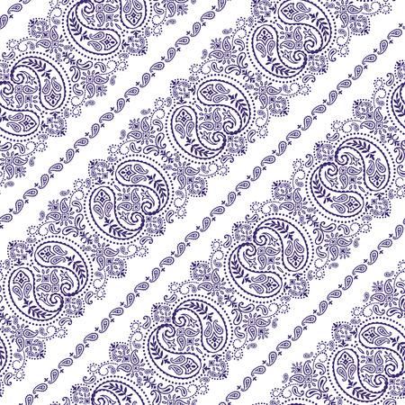 Bandana-Ornament-Muster Vektorgrafik