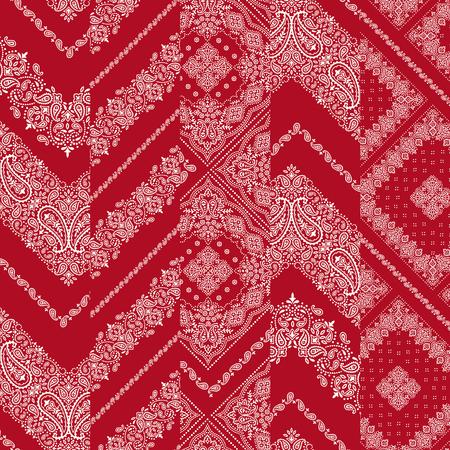 Bandana ornament pattern