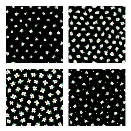 Abstract flower pattern. Illustration