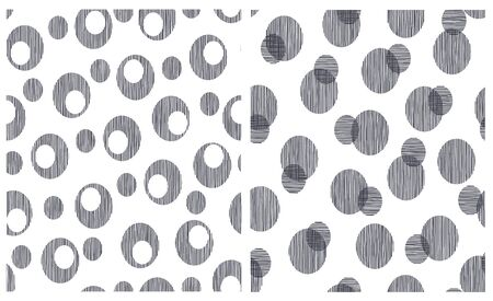Abstract background material using the circle, I continue seamlessly,