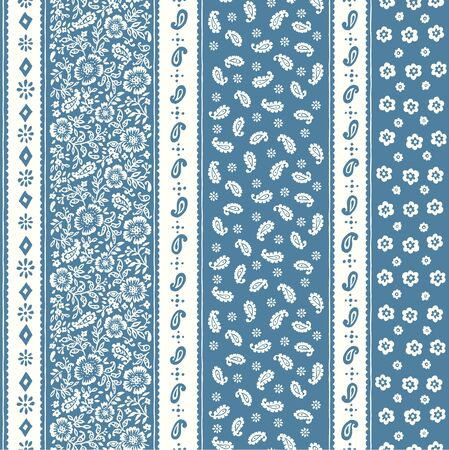 The seamless chintz design that is beautiful at irregularity,
