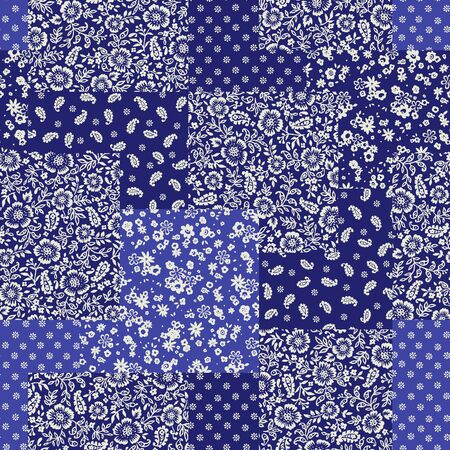 The beautiful seamless printed cotton design that made patchwork,