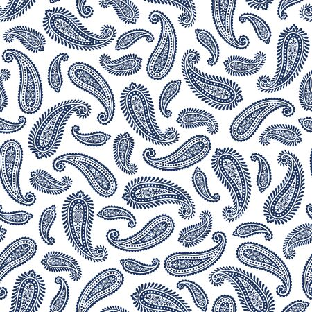 Seamless pattern of beautiful vector paisley,