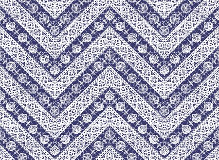 Ethnic pattern illustration seamless beautifully