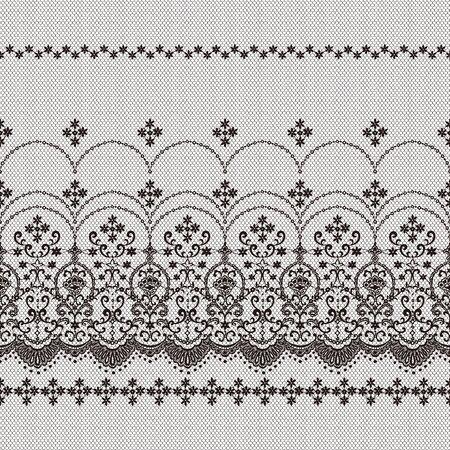 Beautiful lace knitting made into a seamless pattern