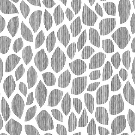 Seamless pattern of the form that is abstract at irregularity,