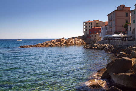 these are some beauty coastline on Elba island