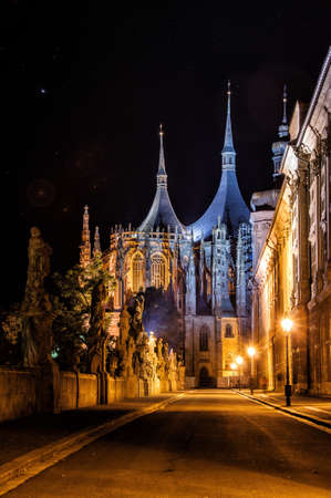 St  Barbora church in Kutna Hora, Czech Republic