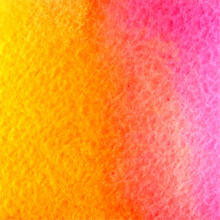 vector watercolor sunny yellow, orange and pink gradient background  イラスト・ベクター素材