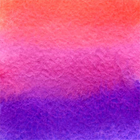 vector watercolor orange, pink and violet gradient background