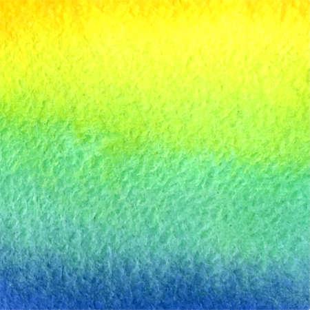 azure: vector watercolor blue, azure, green, yellow, orange gradient background