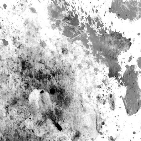 speckle: vector grunge black and white watercolor background Illustration
